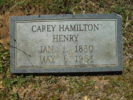 HENRY, CAREY HAMILTON - Dallas County, Arkansas | CAREY HAMILTON HENRY - Arkansas Gravestone Photos