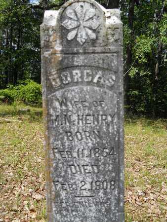 HENRY, DORCAS - Dallas County, Arkansas   DORCAS HENRY - Arkansas Gravestone Photos