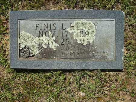 HENRY, FINIS L - Dallas County, Arkansas   FINIS L HENRY - Arkansas Gravestone Photos