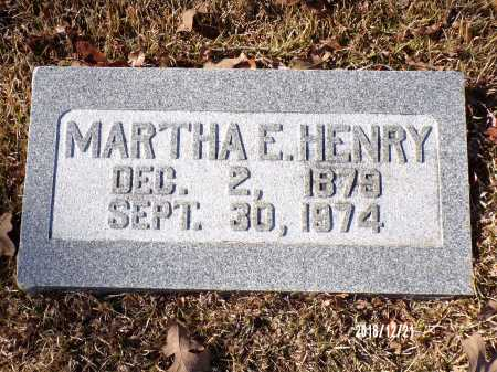 HENRY, MARTHA E - Dallas County, Arkansas | MARTHA E HENRY - Arkansas Gravestone Photos