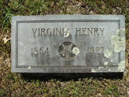 HENRY, VIRGINIA - Dallas County, Arkansas | VIRGINIA HENRY - Arkansas Gravestone Photos