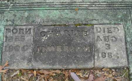 JIMERSON, CHARLIE (CLOSEUP) - Dallas County, Arkansas | CHARLIE (CLOSEUP) JIMERSON - Arkansas Gravestone Photos