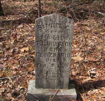 JOHNSON, SAMUEL C - Dallas County, Arkansas | SAMUEL C JOHNSON - Arkansas Gravestone Photos