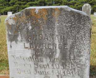 LAWRENCE, SUSANAH - Dallas County, Arkansas   SUSANAH LAWRENCE - Arkansas Gravestone Photos