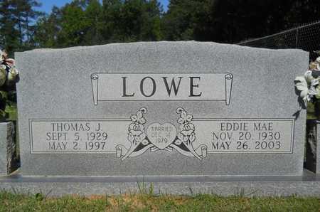 LOWE, EDDIE MAE - Dallas County, Arkansas | EDDIE MAE LOWE - Arkansas Gravestone Photos