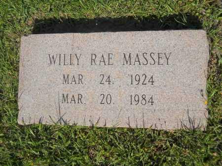 MASSEY, WILLY RAE - Dallas County, Arkansas | WILLY RAE MASSEY - Arkansas Gravestone Photos