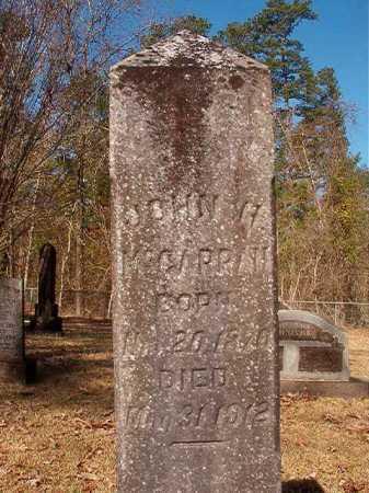 MCGARRAH, JOHN H - Dallas County, Arkansas   JOHN H MCGARRAH - Arkansas Gravestone Photos