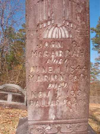 MCGARRAH, JOHN B - Dallas County, Arkansas | JOHN B MCGARRAH - Arkansas Gravestone Photos