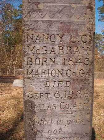 MCGARRAH, NANCY L C - Dallas County, Arkansas | NANCY L C MCGARRAH - Arkansas Gravestone Photos