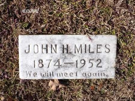 MILES, JOHN HENRY - Dallas County, Arkansas | JOHN HENRY MILES - Arkansas Gravestone Photos