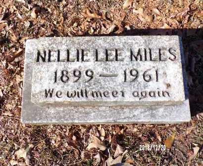MILES, NELLIE LEE - Dallas County, Arkansas   NELLIE LEE MILES - Arkansas Gravestone Photos