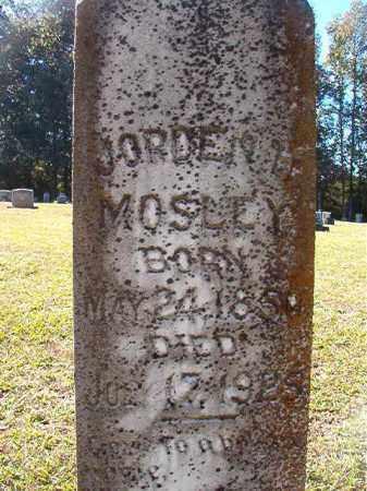 MOSLEY, JORDEN H - Dallas County, Arkansas   JORDEN H MOSLEY - Arkansas Gravestone Photos