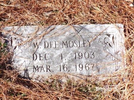 MOSLEY, W DEE - Dallas County, Arkansas | W DEE MOSLEY - Arkansas Gravestone Photos