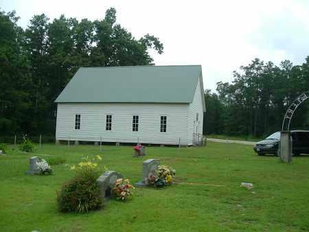 *MT ZION, OLD CHURCH - Dallas County, Arkansas | OLD CHURCH *MT ZION - Arkansas Gravestone Photos