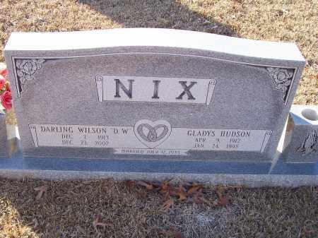 NIX, DARLING WILSON - Dallas County, Arkansas | DARLING WILSON NIX - Arkansas Gravestone Photos