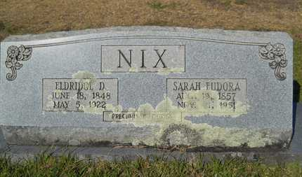 NIX, SARAH EUDORA - Dallas County, Arkansas | SARAH EUDORA NIX - Arkansas Gravestone Photos