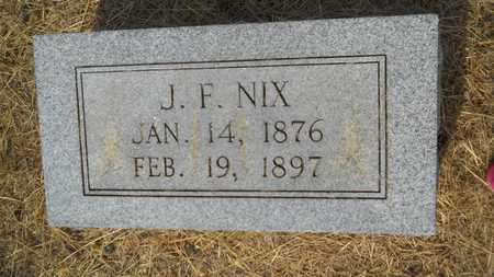 NIX, J FRANKLIN - Dallas County, Arkansas | J FRANKLIN NIX - Arkansas Gravestone Photos