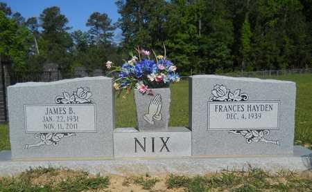 NIX, JAMES B - Dallas County, Arkansas | JAMES B NIX - Arkansas Gravestone Photos
