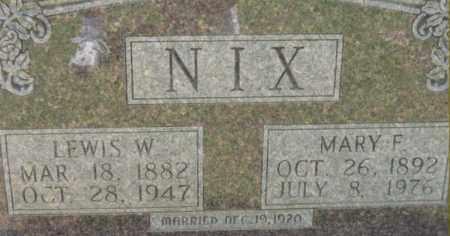 NIX, MARY F - Dallas County, Arkansas | MARY F NIX - Arkansas Gravestone Photos
