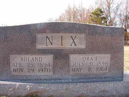 NIX, ORA E - Dallas County, Arkansas   ORA E NIX - Arkansas Gravestone Photos