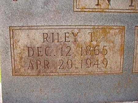NIX, RILEY T (CLOSEUP) - Dallas County, Arkansas | RILEY T (CLOSEUP) NIX - Arkansas Gravestone Photos
