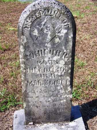 ORR, JOHN - Dallas County, Arkansas   JOHN ORR - Arkansas Gravestone Photos
