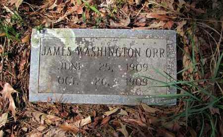 ORR, JAMES WASHINGTON - Dallas County, Arkansas | JAMES WASHINGTON ORR - Arkansas Gravestone Photos