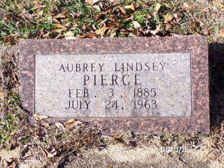 PIERCE, AUBREY LINDSEY - Dallas County, Arkansas   AUBREY LINDSEY PIERCE - Arkansas Gravestone Photos