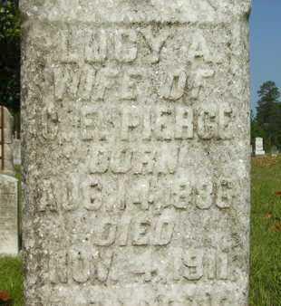PIERCE, LUCY ANN (CLOSEUP) - Dallas County, Arkansas | LUCY ANN (CLOSEUP) PIERCE - Arkansas Gravestone Photos