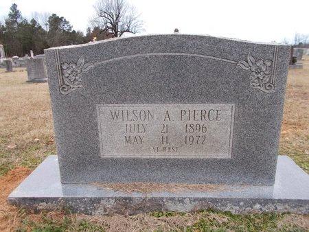 PIERCE, WILSON A - Dallas County, Arkansas | WILSON A PIERCE - Arkansas Gravestone Photos