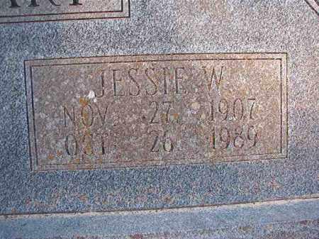 STEWART, JESSIE W - Dallas County, Arkansas | JESSIE W STEWART - Arkansas Gravestone Photos