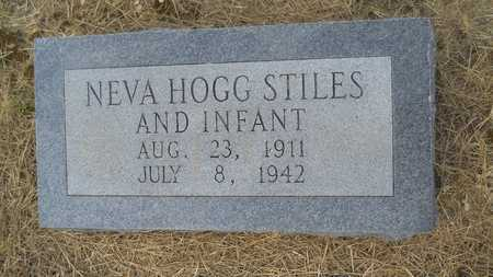 STILES, NEVA - Dallas County, Arkansas | NEVA STILES - Arkansas Gravestone Photos