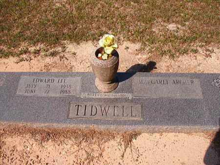 TIDWELL, EDWARD LEE - Dallas County, Arkansas   EDWARD LEE TIDWELL - Arkansas Gravestone Photos