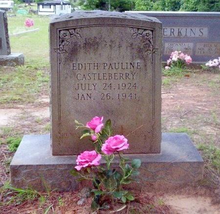 CASTLEBERRY, EDITH PAULINE - Dallas County, Arkansas | EDITH PAULINE CASTLEBERRY - Arkansas Gravestone Photos