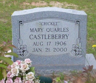 CASTLEBERRY, MARY - Dallas County, Arkansas   MARY CASTLEBERRY - Arkansas Gravestone Photos