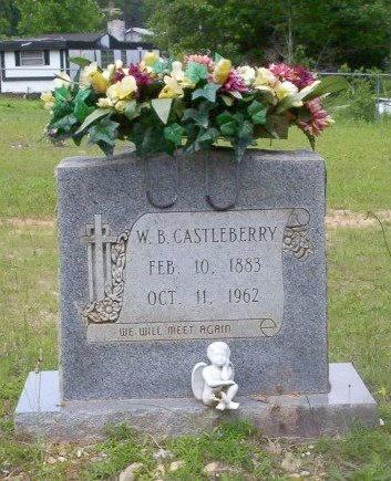 CASTLEBERRY, WILLIAM B - Dallas County, Arkansas   WILLIAM B CASTLEBERRY - Arkansas Gravestone Photos