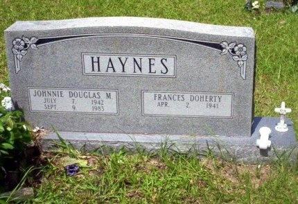 HAYNES, JOHNNIE DOUGLAS MOSLEY - Dallas County, Arkansas | JOHNNIE DOUGLAS MOSLEY HAYNES - Arkansas Gravestone Photos