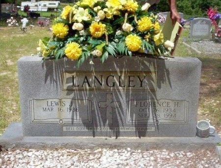 LANGLEY, LEWIS - Dallas County, Arkansas | LEWIS LANGLEY - Arkansas Gravestone Photos