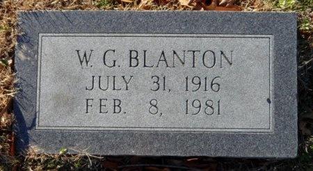BLANTON, W. G. - Desha County, Arkansas | W. G. BLANTON - Arkansas Gravestone Photos
