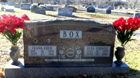 BOX, FRANK CECIL - Desha County, Arkansas | FRANK CECIL BOX - Arkansas Gravestone Photos