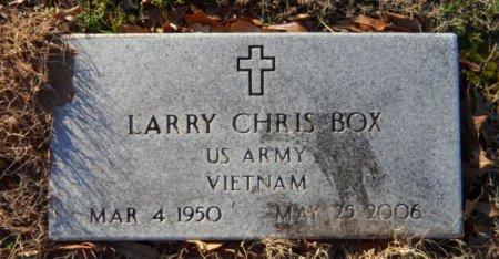 BOX (VETERAN VIET), LARRY CHRIS - Desha County, Arkansas | LARRY CHRIS BOX (VETERAN VIET) - Arkansas Gravestone Photos