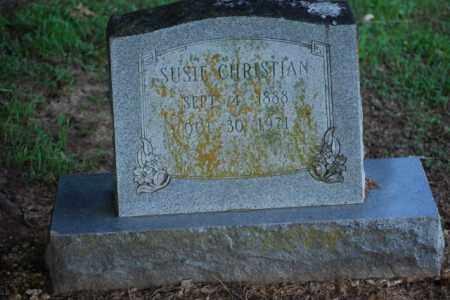 CHRISTIAN, SUSIE - Desha County, Arkansas | SUSIE CHRISTIAN - Arkansas Gravestone Photos