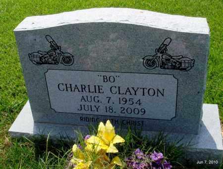 "CLAYTON, CHARLIE ""BO"" - Desha County, Arkansas   CHARLIE ""BO"" CLAYTON - Arkansas Gravestone Photos"