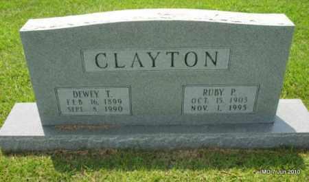 CLAYTON, DEWEY T - Desha County, Arkansas | DEWEY T CLAYTON - Arkansas Gravestone Photos