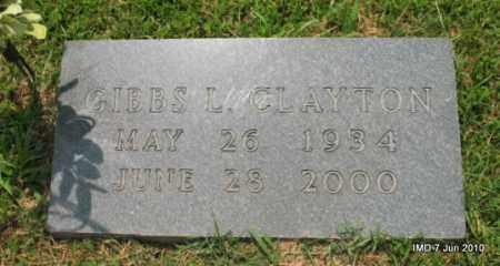 CLAYTON, GIBBS L - Desha County, Arkansas | GIBBS L CLAYTON - Arkansas Gravestone Photos