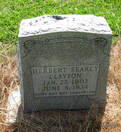 CLAYTON, HERBERT SEARCY - Desha County, Arkansas | HERBERT SEARCY CLAYTON - Arkansas Gravestone Photos