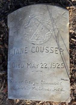 COUSSER, JANE - Desha County, Arkansas | JANE COUSSER - Arkansas Gravestone Photos