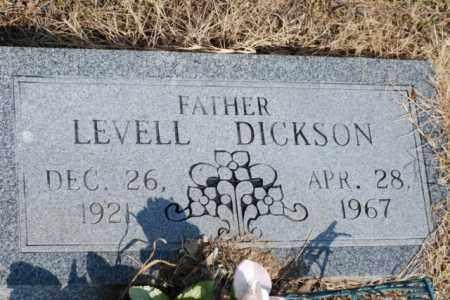 DICKSON, LEVELL - Desha County, Arkansas | LEVELL DICKSON - Arkansas Gravestone Photos
