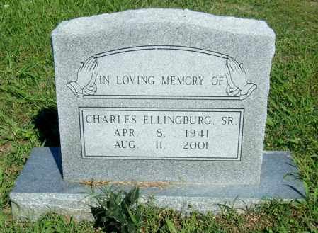 ELLINBURG, SR, CHARLES - Desha County, Arkansas | CHARLES ELLINBURG, SR - Arkansas Gravestone Photos
