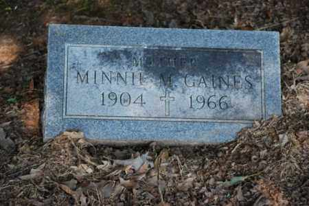 GAINES, MINNIE - Desha County, Arkansas | MINNIE GAINES - Arkansas Gravestone Photos